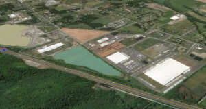 Industrial Park II of the Port of Centralia is pictured in this aerial photo.